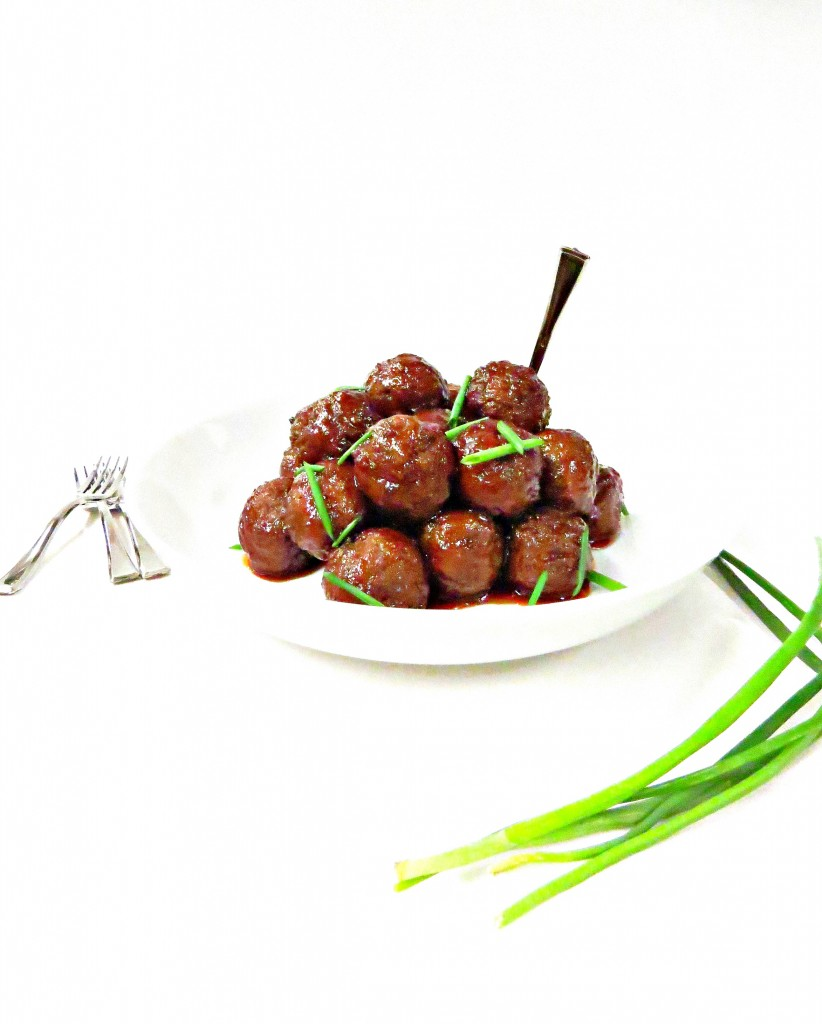 Sweet and Spicy Party Meatballs
