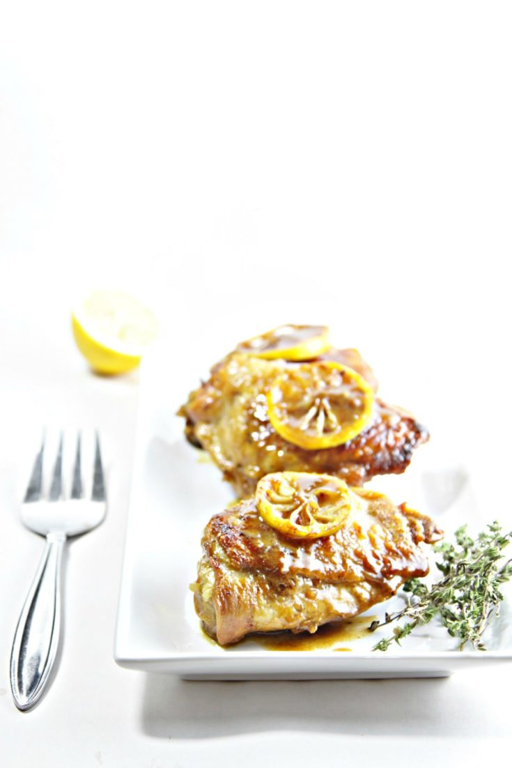 Chicken with Charred Lemon and Gnocchi