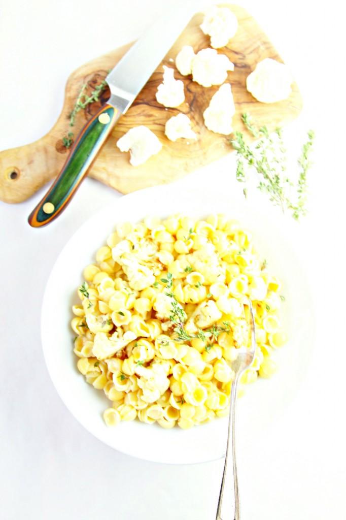 Three Cheese Pasta Shells And Cauliflower Recipes — Dishmaps