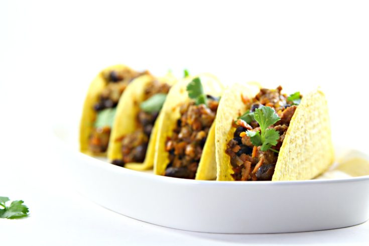Black Bean Turkey Tacos