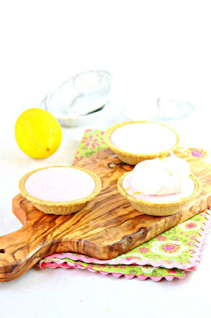 Pink Lemonde Icebox Pie