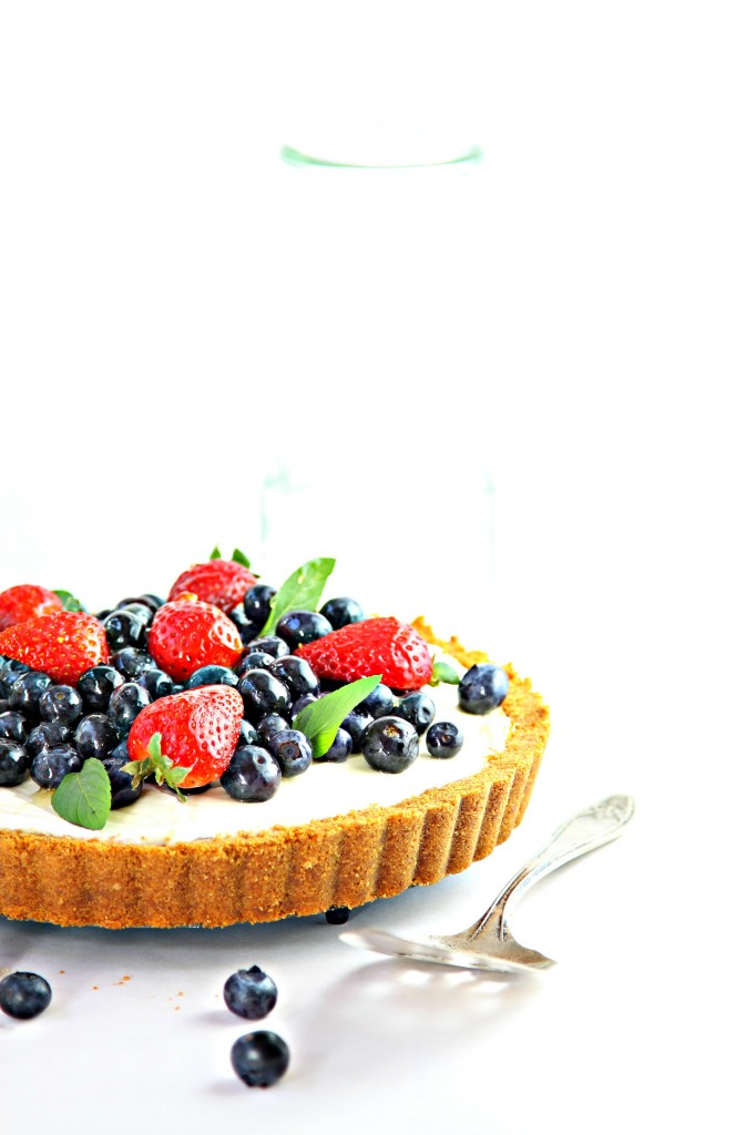 Mixed Berry Cheesecake Tart