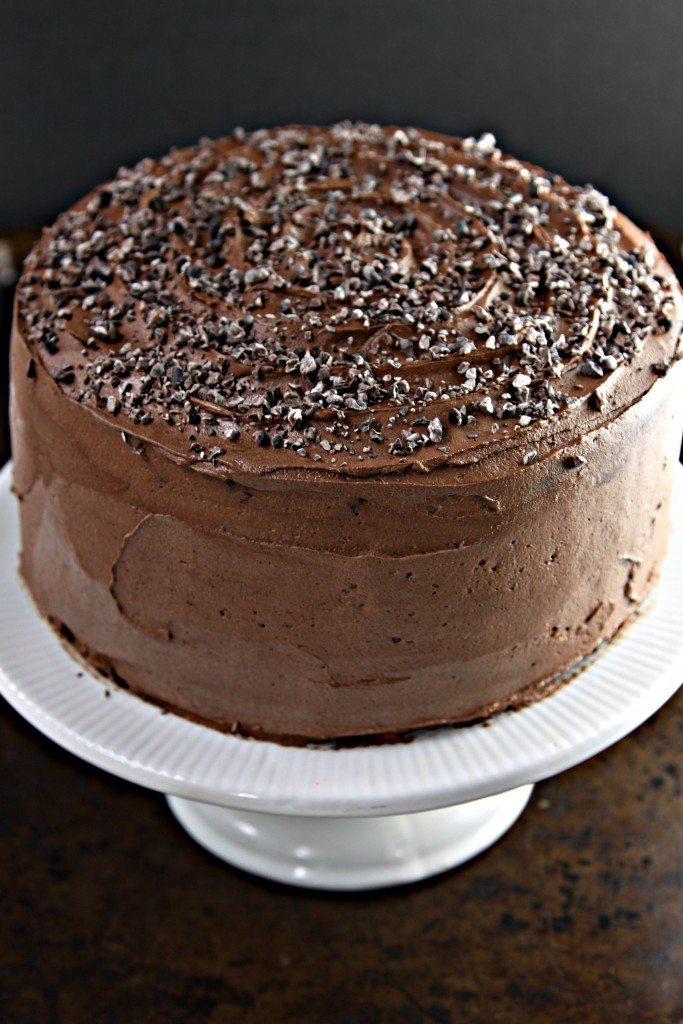 Death by Chocolate Coffee Layer Cake