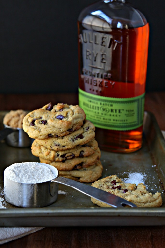 Hot Shot Whiskey Brown Butter Chocolate Chip Cookies