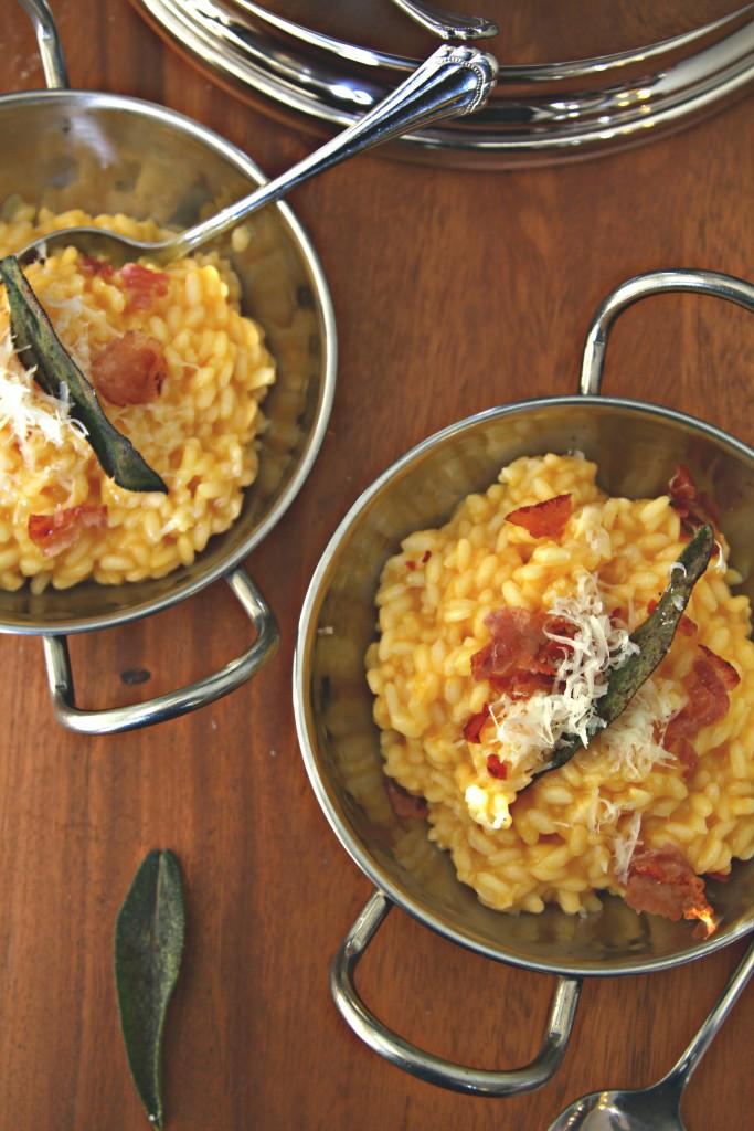 Butternut Squash Risotto with Crispy Prosciutto + {Lagostina Risotto ...