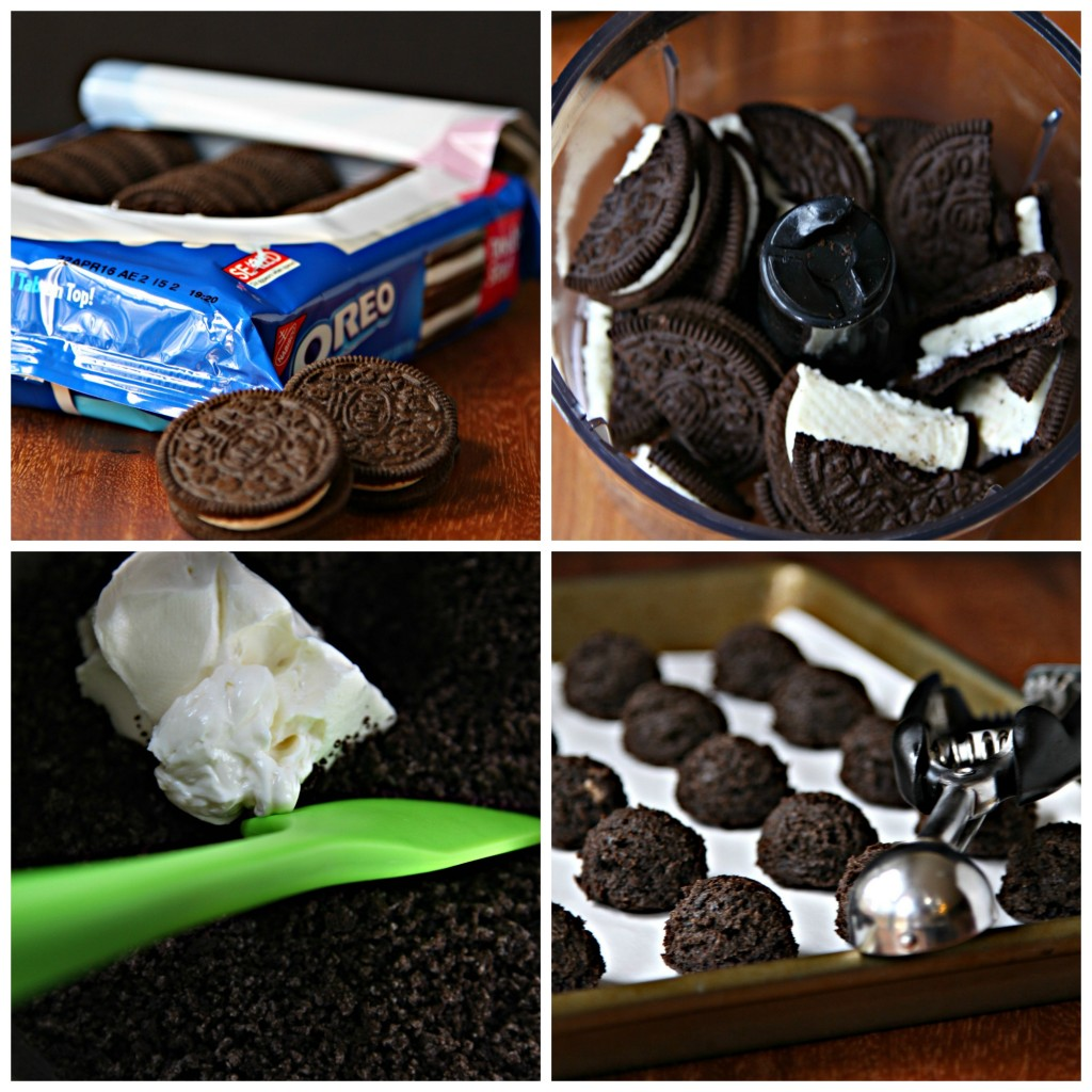 OREO Cookie Ball Step by Step