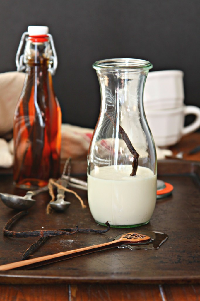 Homemade Vanilla Bean Coffee Creamer