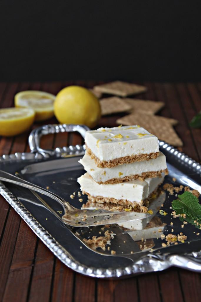 Lemon Icebox Bars