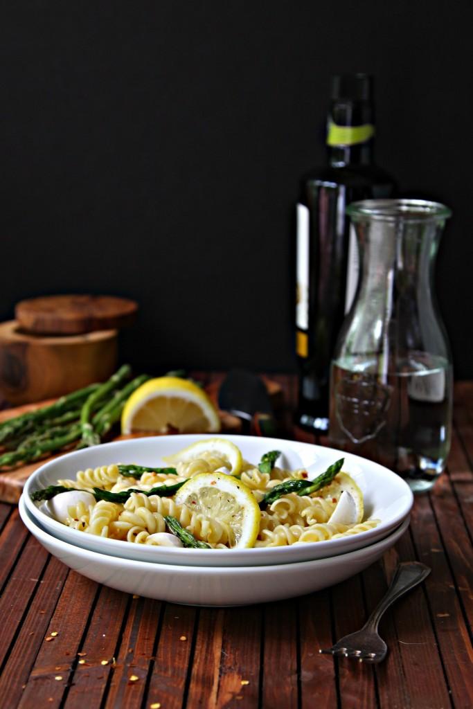 Asparagus Lemon Rotini