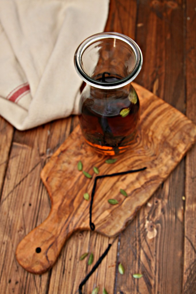 DIY Vanilla Spiced Bourbon