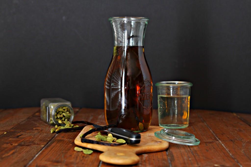 DIY Vanilla Spiced Bourbon