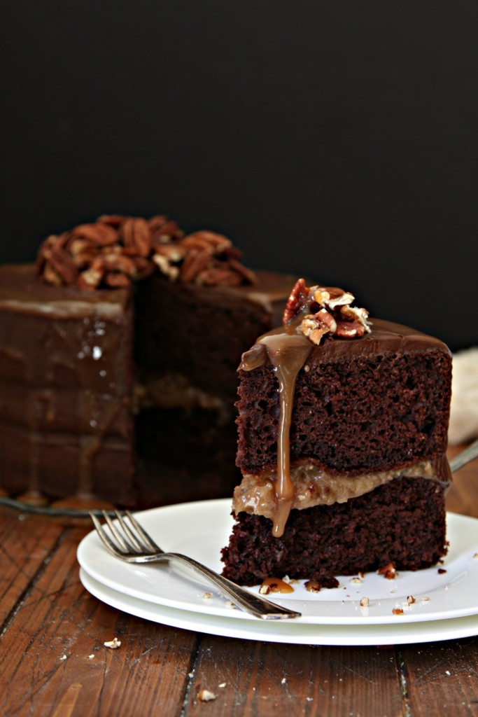 Chocolate Bourbon Cake Recipe — Dishmaps