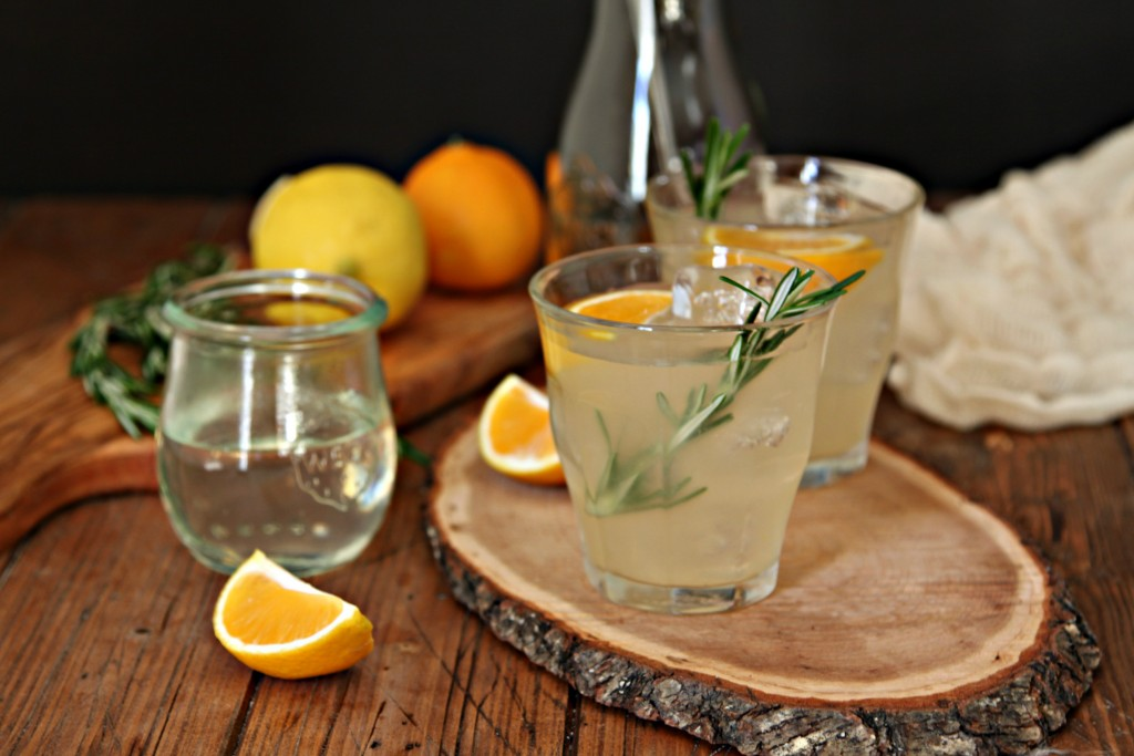 Rosemary Lemonade Margaritas