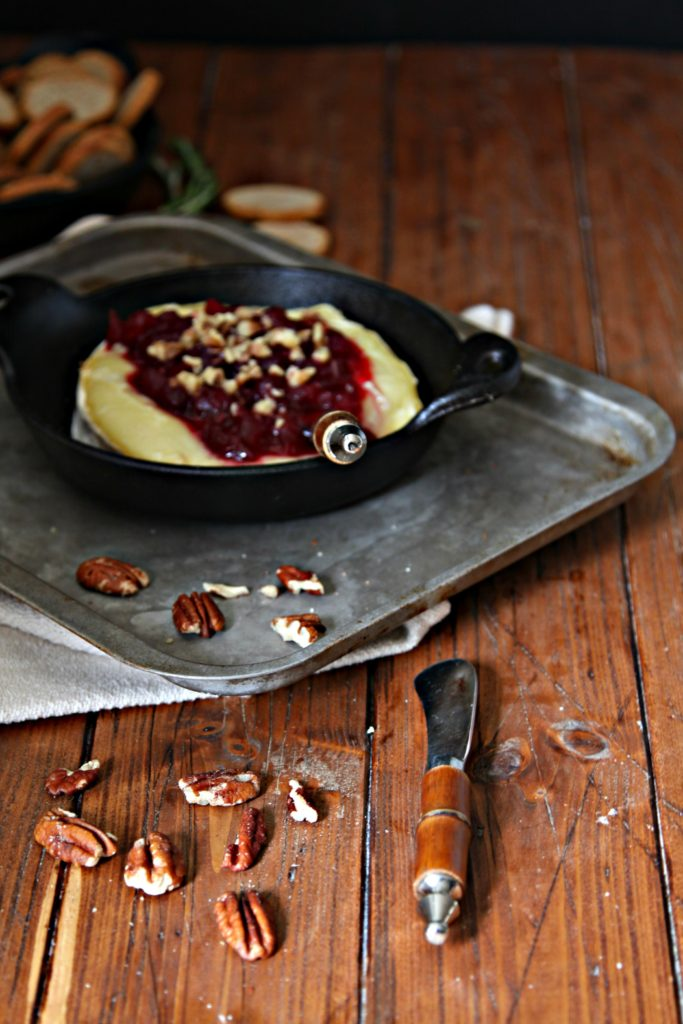 Baked Brie with Cranberrie