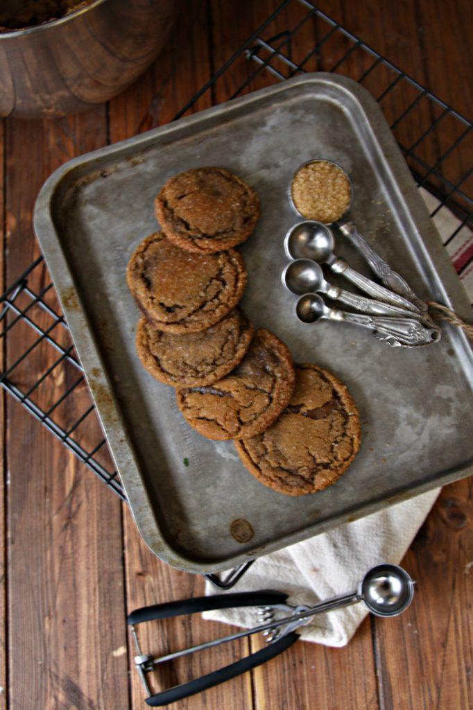 Ginger Molasses Cookies