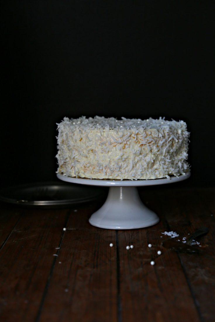 Classic Coconut Cake