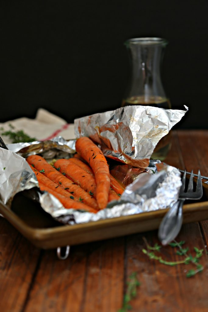 White Wine Braised Carrots