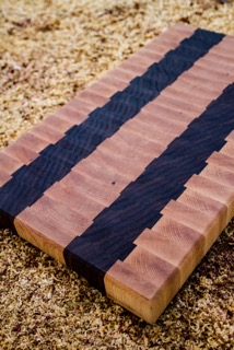The Timbered Wolf Cutting Board