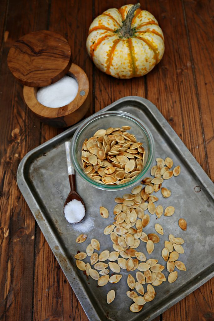 Hot to Roast Pumpkin Seeds