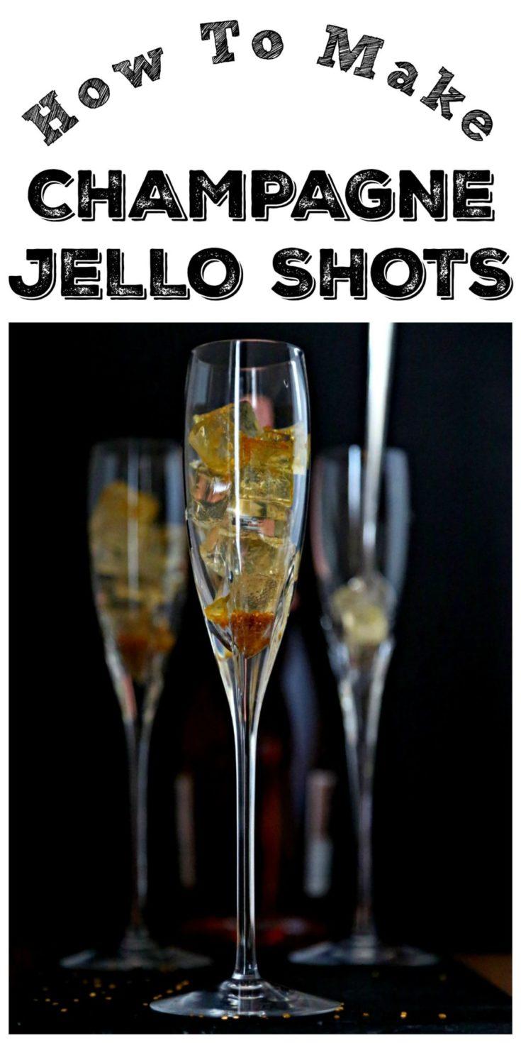 Champagne Jello Shots #champagne #jello #jelloshots