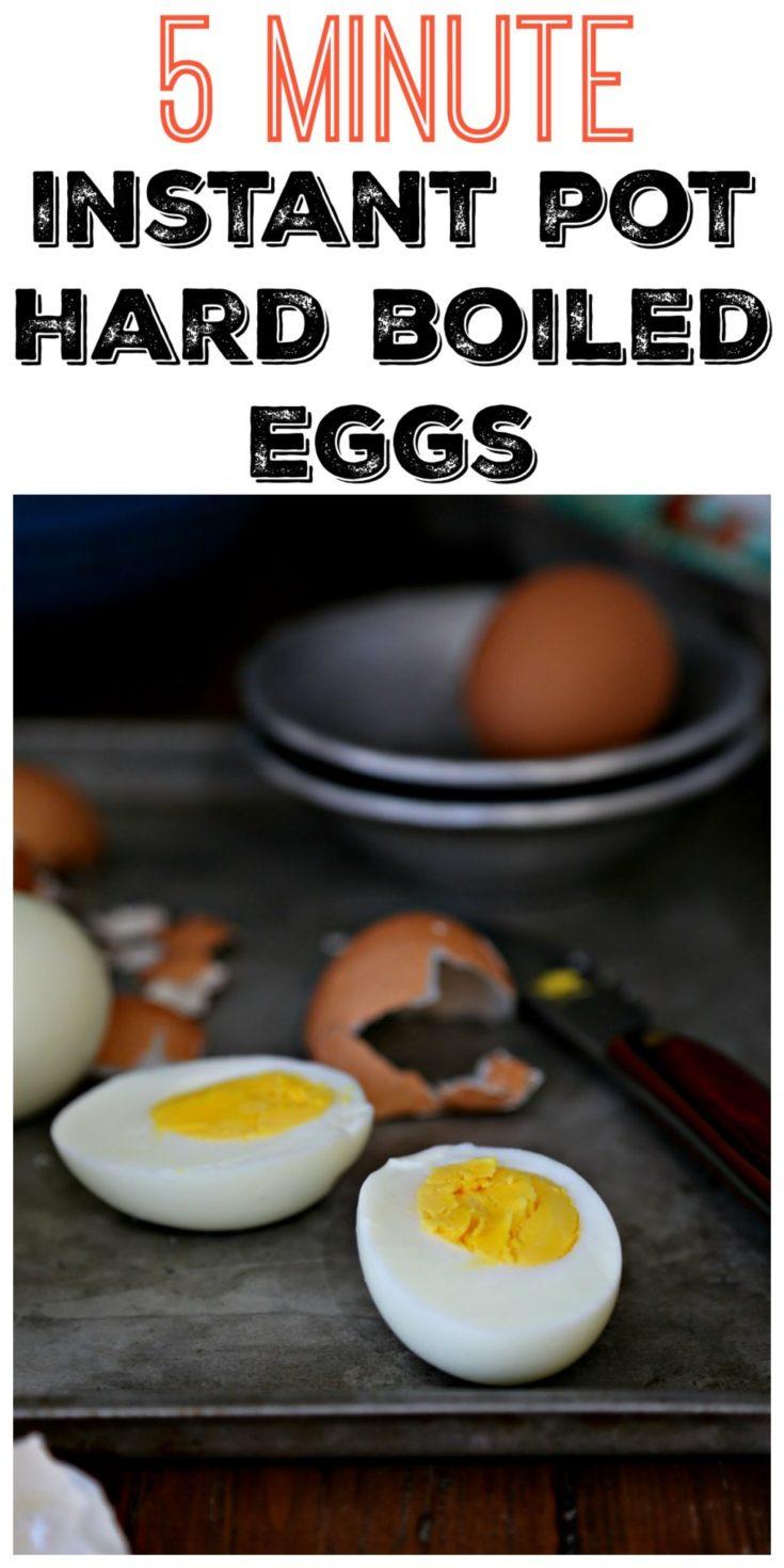 How to Make the Perfect Hard Boiled Eggs in an Instant Pot #instantpot #eggs #hardboiledeggs #easyrecipe #vegetarian #glutenfree #glutenfreerecipes #keto