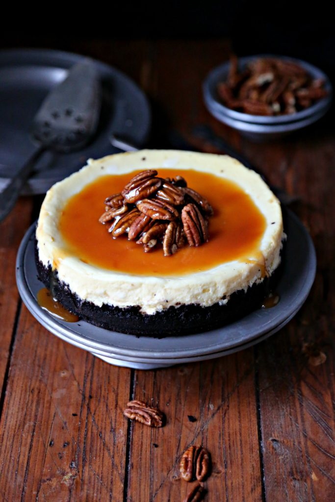 Instant Pot Turtle Cheesecake #instantpot #cheesecake #turtlecheesecake #desserts #pressurecooker