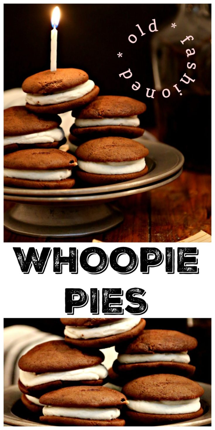 Momma's Old Fashioned Whoopie Pies #dessert #whoopiepie #chocolate #southern