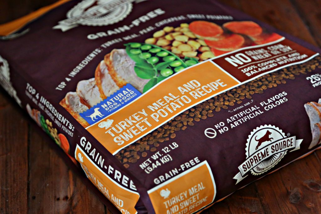 Grain Free Turkey And Sweet Potato Dog Food