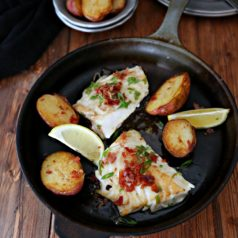 Alaska Cod With Lemon Butter