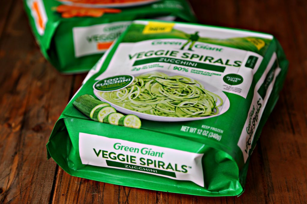 Green Giant Veggie Spirals package