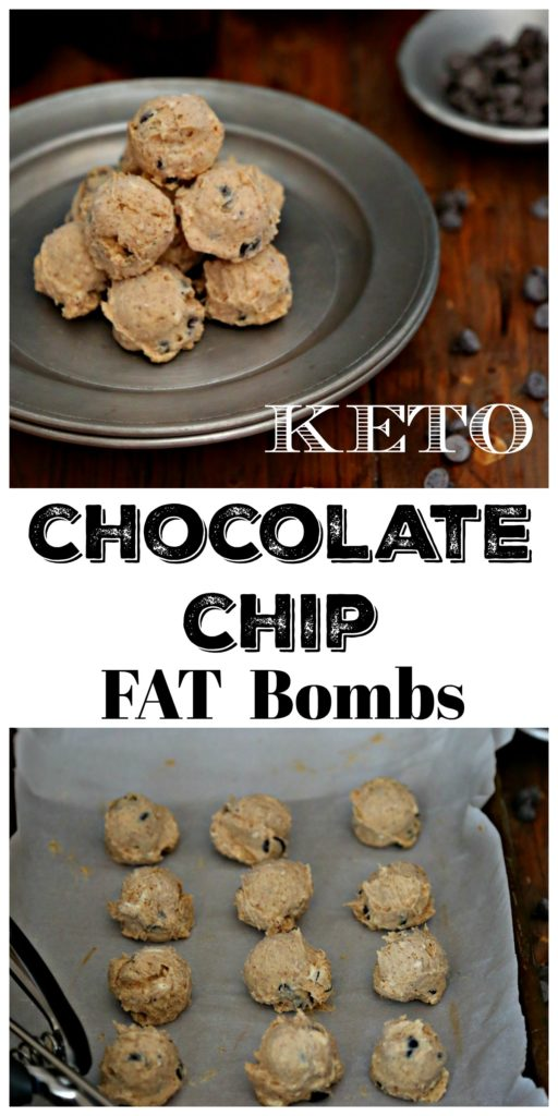 Keto Chocolate Chip Fat Bombs