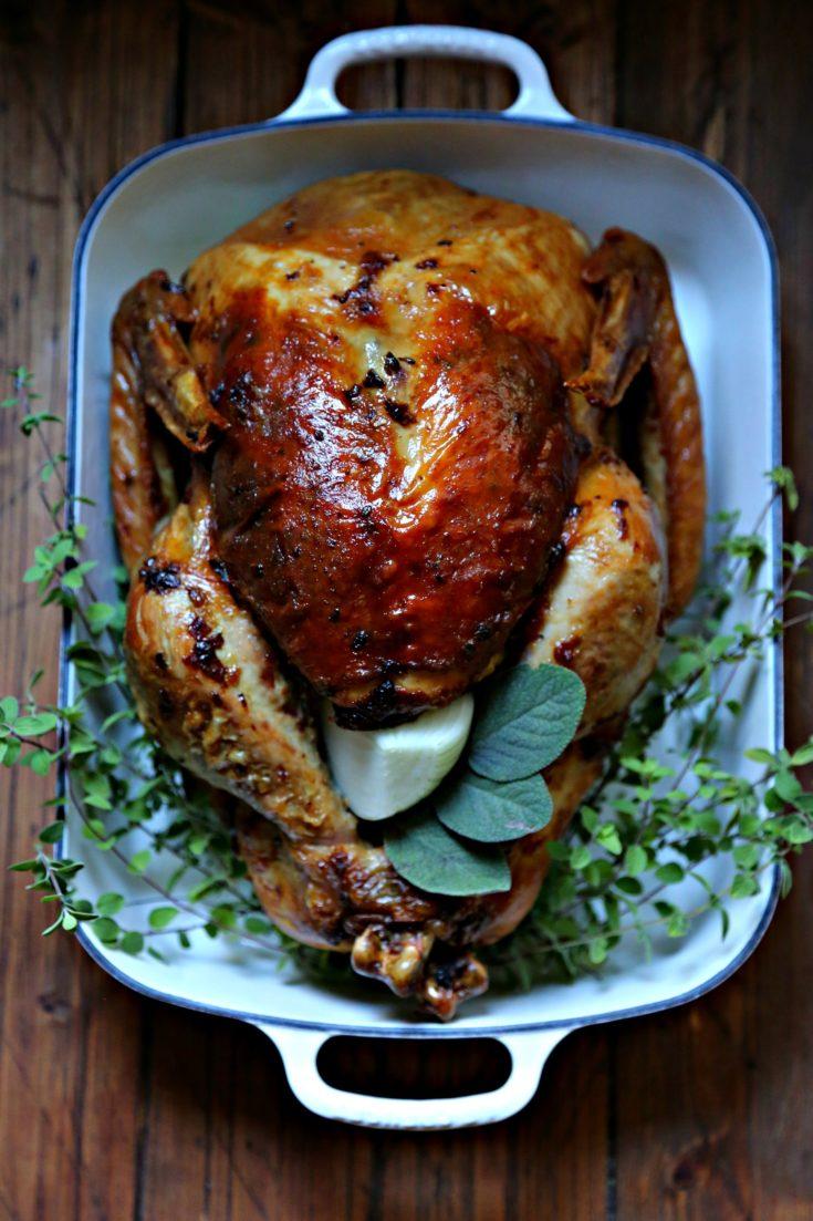 Mayonnaise Herb Roasted Turkey