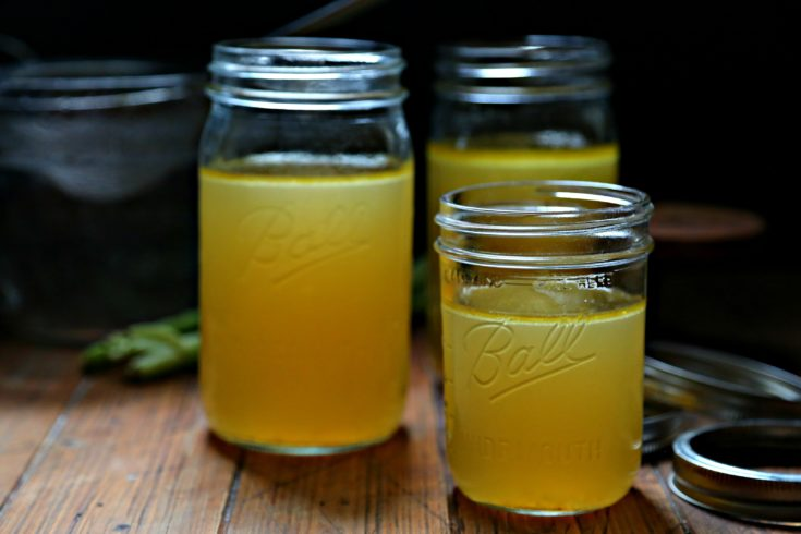 Easy Instant Pot Chicken Stock