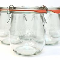 Weck 762 Tulip Jelly Jar, SET of 6