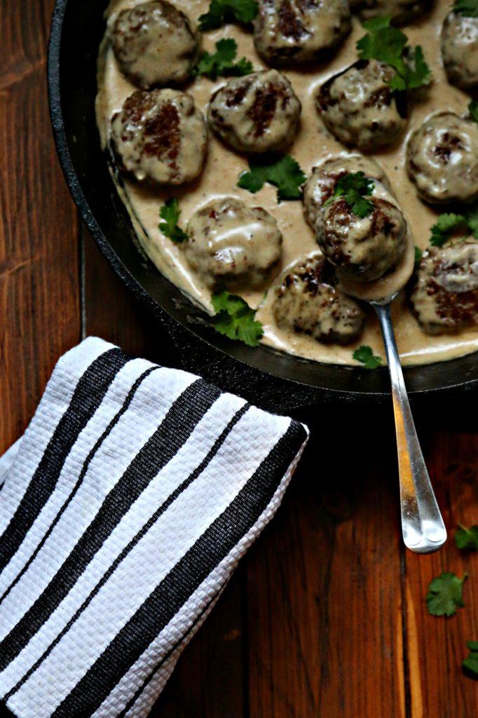 Skillet Swedish Meatballs