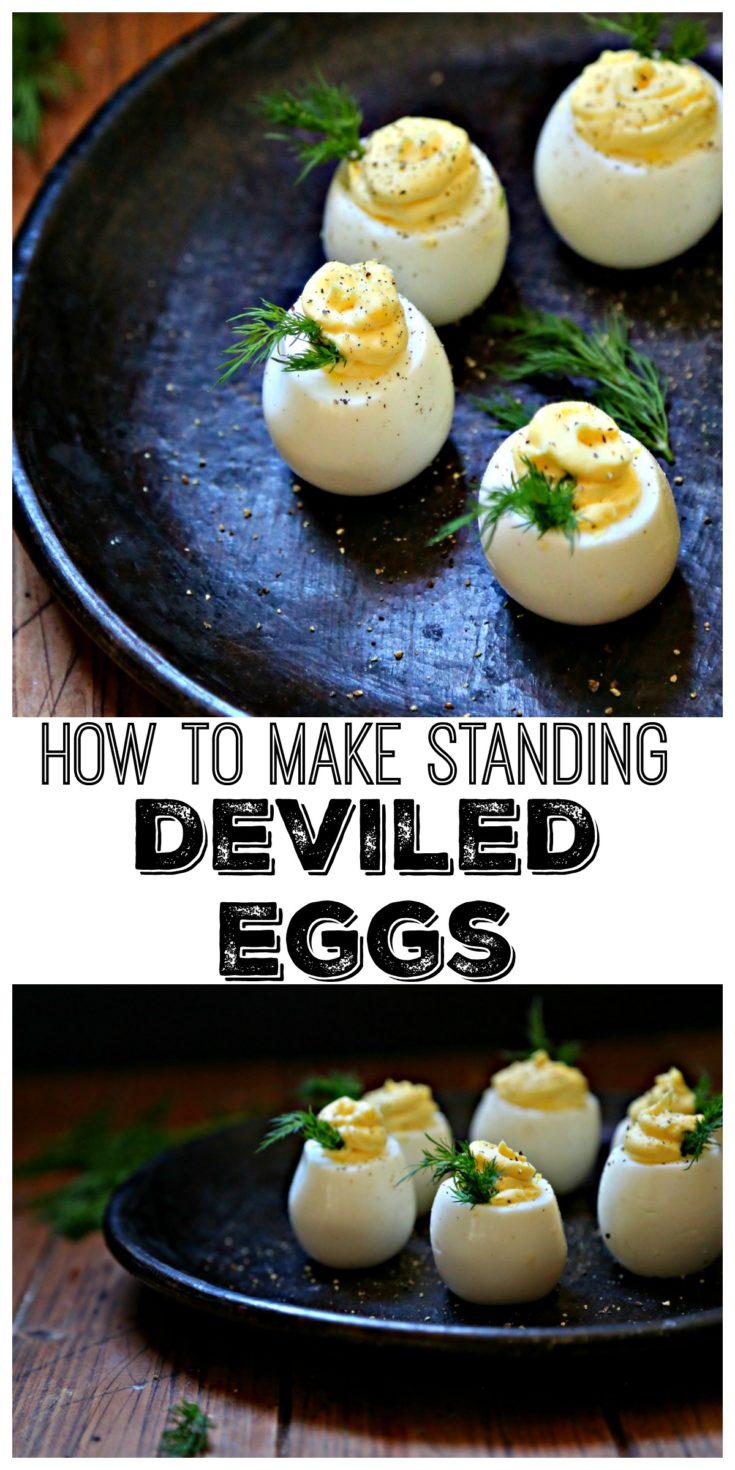 We'll show you how to make classic deviled eggs with a fun twist for presentation. #appetizers #glutenfree #lowcarb #deviledeggs #eggs #easyrecipes #glutenfreerecipes