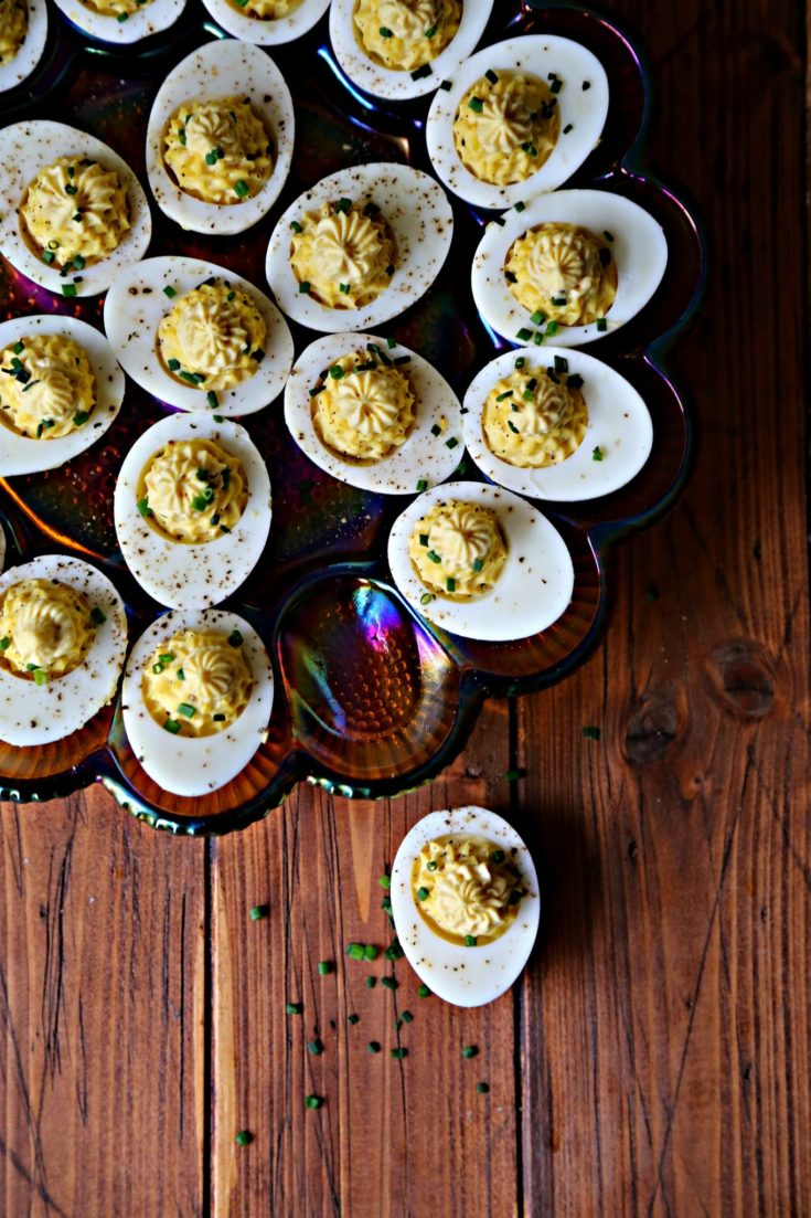 Maille Deviled Eggs