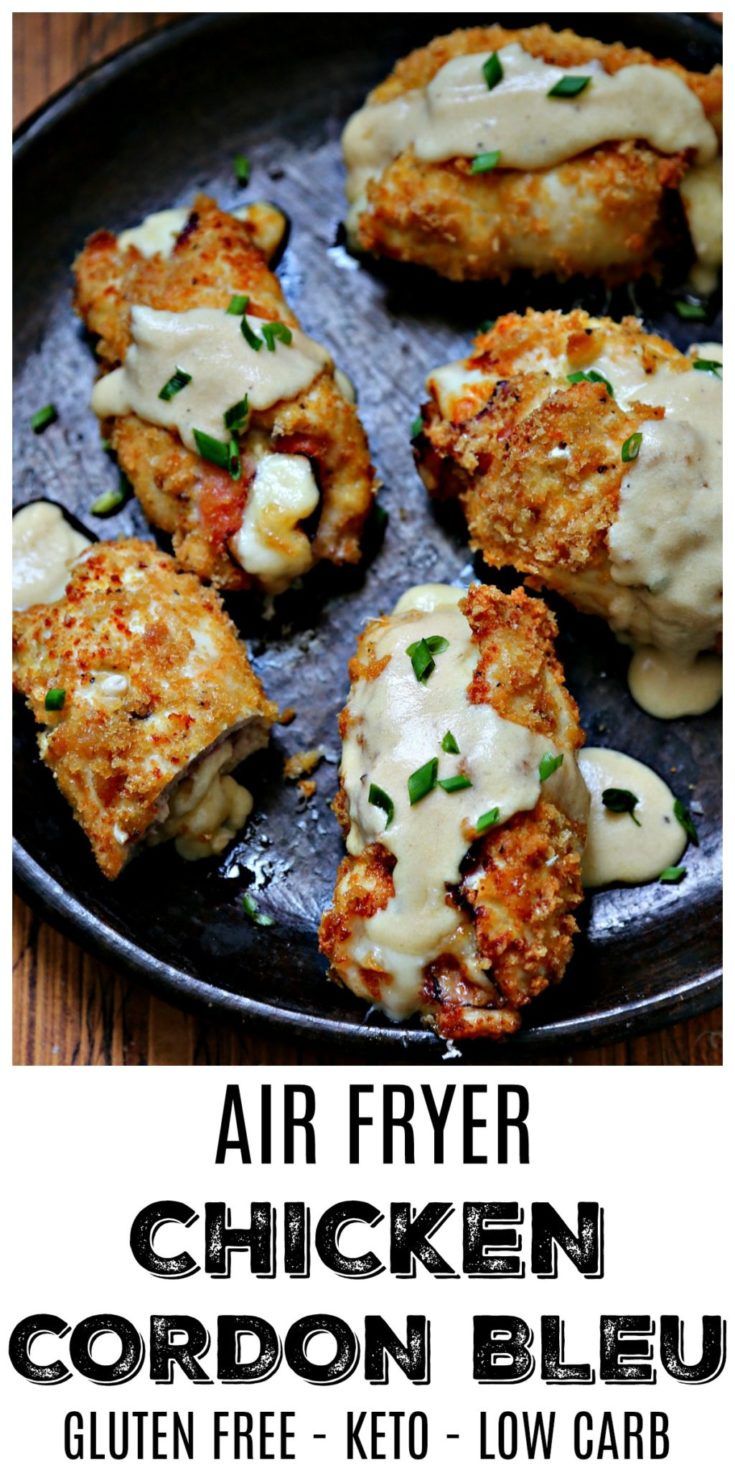 air fried gluten free chicken cordon bleu bell alimento