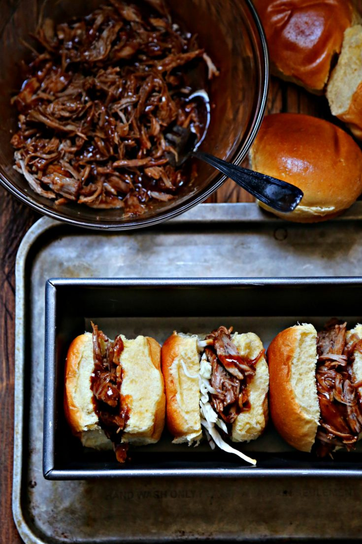 Instant Pot BBQ Pulled Pork