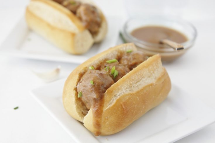 Sweet & Spicy Mini Meatball Subs