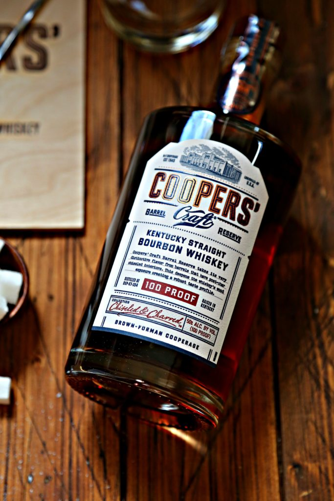bottle of Coopers' Craft bourbon